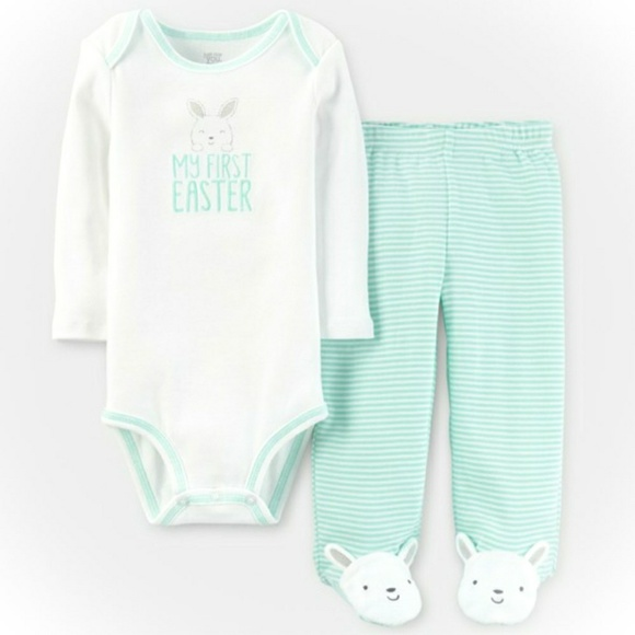 52fc17349 Carter's Matching Sets | Last Chancebaby My First Easter Outfit ...